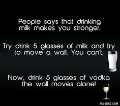 Screw milk