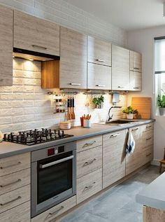 pl – Odkrywaj, kolekcjonuj, kupuj – My All Pin Page Kitchen Room Design, Modern Kitchen Cabinets, Kitchen Cabinet Design, Modern Kitchen Design, Home Decor Kitchen, Rustic Kitchen, Interior Design Kitchen, Home Kitchens, Kitchen Modular