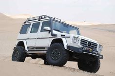 Long live the Gevolution! Mercedes G55 AMG will be sent into the wilderness: Heavy Duty Mercedes G-Class conversion of German Automotive Engineering (GAE) - car of the week - Mercedes fans - The magazine for Mercedes-Benz enthusiasts