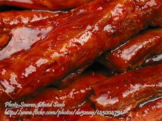 Spareribs With Catsup http://www.panlasangpinoymeatrecipes.com/spareribs-with-catsup.htm #SpareribsCatsup #PorkSpareribs #BeefSpareribs
