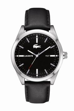 Lacoste Men s Montreal Black   Watches Cool Watches 2fddef744ebe
