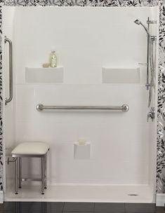 grab bars; handicap accessible bathtub replacement shower