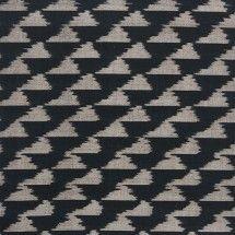 tribal black woven fabric