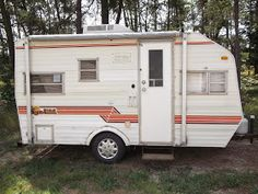 i can't believe it's been 1 years since we bought the 1982 sunline travel  trailer  we bought her in august of
