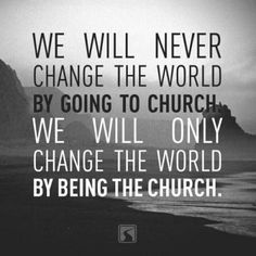 Yes, carry Holy Spirit presence to impact others lives... As Jesus did.