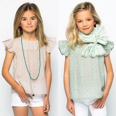Nuestras camisas de flores son IRRESISTIBLES, verdad??? Son súper fresquitas, sientan fenomenal y son taaaan sweeties!!! Tus niñas estarán para comérselas!!! http://www.nicoli.es/tienda/home.php?cat=2170