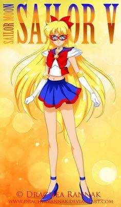 Sailor V by CatOfMoon.deviantart.com