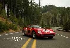 A HIGH-SPEED DRIVE WITH THE INCREDIBLE 1964 FERRARI 250 GTO CAR. http://www.selectism.com/2014/05/01/a-high-speed-drive-with-the-incredible-1964-ferrari-250-gto-car/