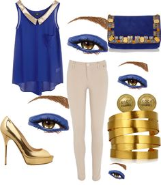 """eyes"" by flo603 on Polyvore"