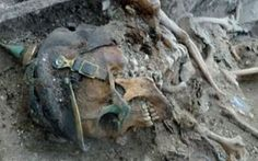 World War One soldiers' skeletons discovered in former trenches ...