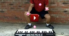 Your Jaw Will DROP When You See What This Man Can Do With a Piano! WOW. Piano Juggler