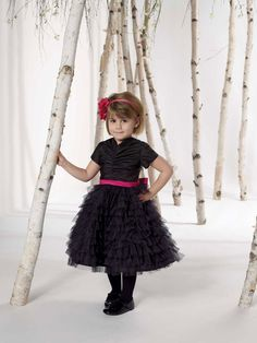 Perfect ball gown tulle short sleeve flower girl dress