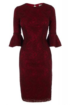 Dresses with sleeves: Red for the festive season   Fab after Fifty   Information and inspiration for women over 50
