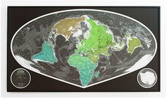 World Wall Maps, magnetic wall maps