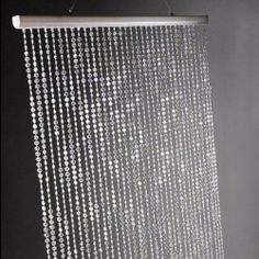 SUPER LONG feet Iridescent Bead Curtain Wedding Centerpiece Acrylic Crystal Diamond cut Tier/Bling Curtains Add a sophisticated glimmer to your decor with this crystal curtain. It features 34 garlands of iridescent acrylic cryst. Crystal Curtains, Beaded Curtains, Wedding Centerpieces, Wedding Decorations, Vegas Decorations, Wedding Ideas, Graduation Centerpiece, Diamond Decorations, Centerpiece Ideas
