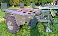 Angeboten wird ein Anhänger von der Bundeswehr Beschreibung: 1 Achsanhänger Fahrgestell Leergewicht 1,5t zulässiges Gesamtgewicht 3,5t Zweileitungsbremsanlage Eine Rechnung wird ausgeschrieben!