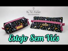YouTube Zipper Pouch Tutorial, Diy Purse, Sewing Kit, Diy Videos, Couture, Zip Around Wallet, Patches, Maria Elisa, Jeans