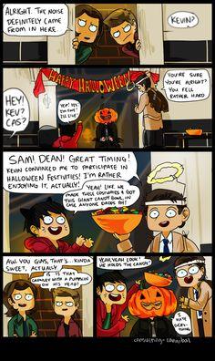 supernatural halloween :)