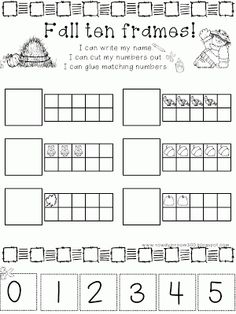 First Grade Math Unit 1: Number Sense, Counting Forward, Ten ...