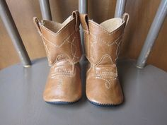 Baby's First Cowboy Boots...LLLLooove.