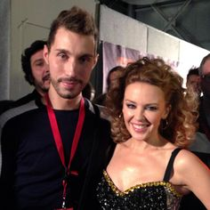 Umberto & Kylie Minogue #kylieminogue #kylie