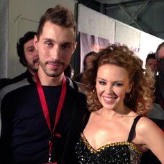 Umberto & Kylie Minogue #kylieminogue #kylie
