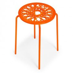 Carnevale Studio Bungee Stool  Exclusively at ABC, this unique stool combines the energy of fashion with the tactile creativity of latex, bungee, and rope.