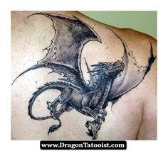 Dragon Tattoo Western | Dragon Tattoos