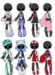 .:Adopted:. Outfit Batch 01 by DevilAdopts.deviantart.com on @DeviantArt