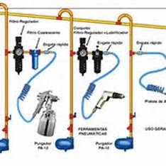 my compressed air piping layout air compressor piping pinterest rh pinterest com air compressor piping diagrams and tips Air Line Diagrams