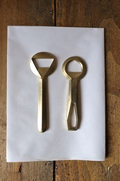 Fort Standard brass casted bottle openers