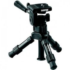 "SUNPAK 620-250 12.2"" Mini-PRO Plus Tripod with 3-Way Panhead.  Only $19.99 + Free Shipping."