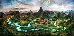 Guilin offers you top hiking experiece in China. There are many great places for you to hike, such as Li River, Yangshuo and Longji Terrace. Check our popular budget Guilin hiking deals. Guilin, Fotografia Hdr, Beautiful World, Beautiful Places, Beautiful Sites, Amazing Places, Provinces Of China, Nature Landscape, Hdr Photography