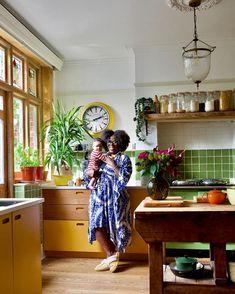 Beach House Kitchens, Home Kitchens, Dream Kitchens, Kitchen Utilities, Interior Decorating, Interior Design, Decoration, Kitchen Interior, Kitchen Dining
