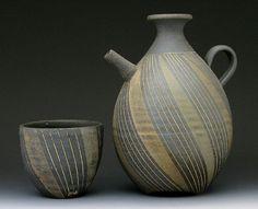 *Ceramic Vessels by Ichino Tetshuji