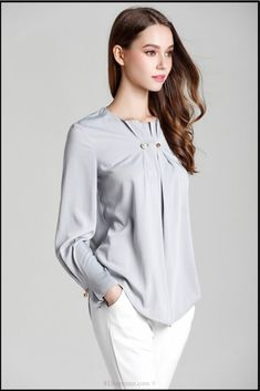 Long Sleeve Fold Beading Elegant Ruffles Blouse | 81Supreme. Blouses for women | blouses | blouse designs indian | blouse outfit | blouse designs | La Blouse Roumaine | blouse/choli | Blouse & Shirts | Blouses | Shirts | shirts with sayings | shirt dress | shirtless men | shirt ideas vinyl | My Puppy Shirt | The Shirt List | SunFrog Shirts | Shirt Quotesd | Shirts And More Shirts | Shirtmotive für alle