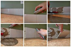 Updating or adding a tile backsplash to your kitchen (or bathroom) is a great way to make a big impact update to your space. Here are a few tips that I picked u…