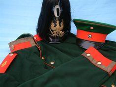 The matching Tschako, Waffenrock, and Schirmmütze for Preußen Magdebugisches Jäger Batl. Nr.4 IV.Armee-Korps.