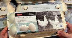 Virikehäkkien munista on nyt ylituotantoa. Parhaiten kauppansa tekevät erikoismunat ja erityyppiset munajalosteet. Lidl, Headphones, Electronics, Headpieces, Ear Phones, Consumer Electronics
