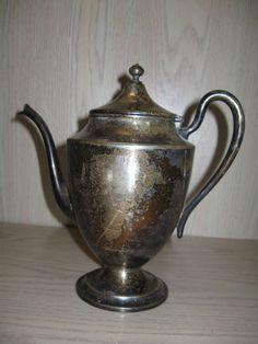 National Silver Co Tea Pot #1001 Circa 1904 #NationalSilverCo