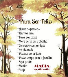 Magia no Dia a Dia: Para Ser Feliz