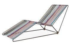 Outdoor Missoni Cordula lounge chair.