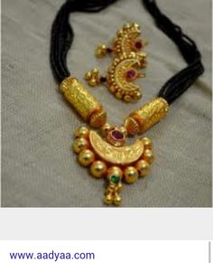 Exclusive Black beads chain With Pendent.