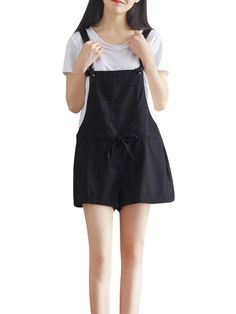 Hot-sale Casual Strap Pockets Jumpsuits Shorts For Women - NewChic
