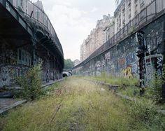 By The Silent Line: Photographs of an abandoned railway line in Paris |  La Petite Ceinture | Pierre Folk