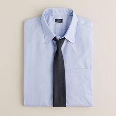 Point-collar end-on-end dress shirt - classic dress shirts - Men's alwayslist2 - J.Crew