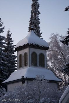 Tuusula church bell tower