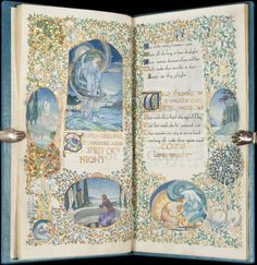 Gorgeous Illuminated Manuscript by Jessie Bayes : Lot 307