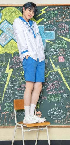 School Uniform, Southern Prep, Denim Skirt, Kpop, Boys, Skirts, Style, Fashion, Colorful Wallpaper