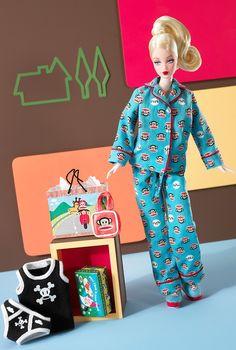 ポール・フランク バービー 青 Paul Frank Barbie - バービー人形・ファッションドール通販 エクスカリバー Excalibur